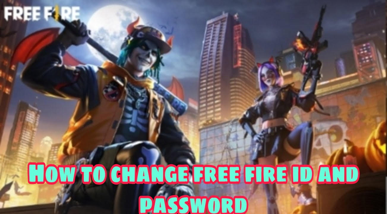 How to change free fire id password