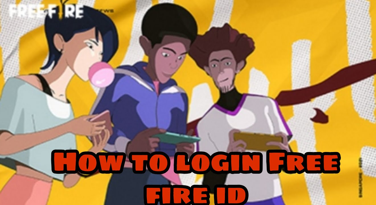How to login free fire id